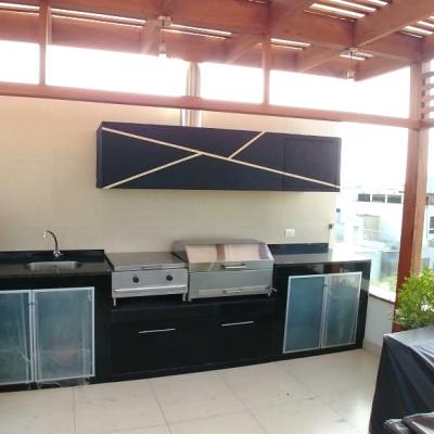 Estación de parrilla diseño Lubri