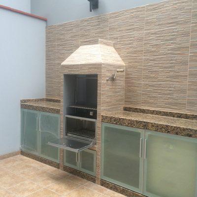 Estación de parrilla Diseño Bari