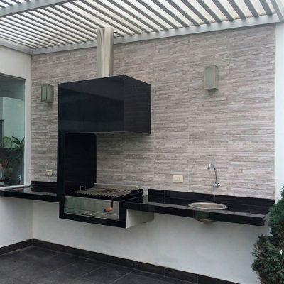 Estación de parrila diseño Rímini